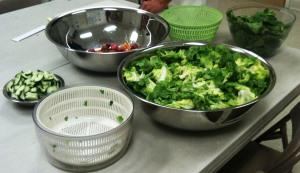 Lettuce Preparation