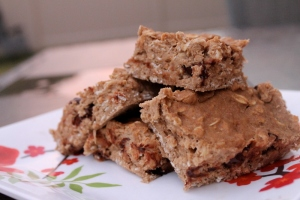 Chocolate Banana Protein Bars