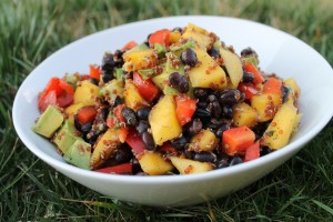 Black Bean and Mango Quinoa Salad