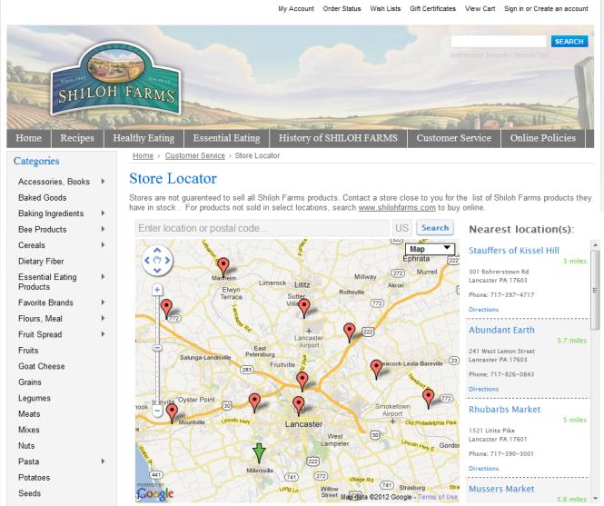 http://www.shilohfarms.com/store-locator/