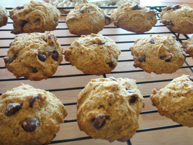 Pumpkin Spelt Cookies