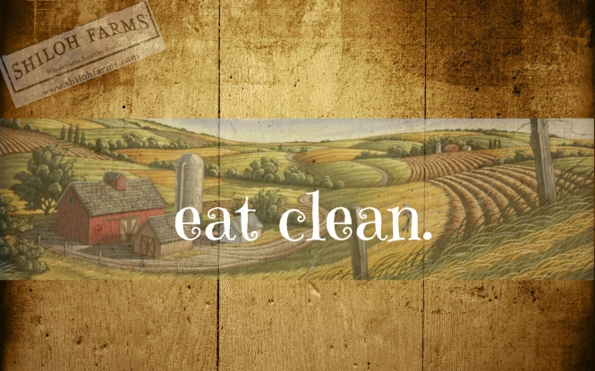 eat clean-background