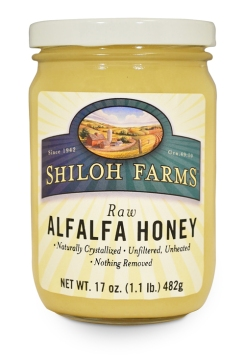 Shiloh Farms Raw Alfalfa Honey