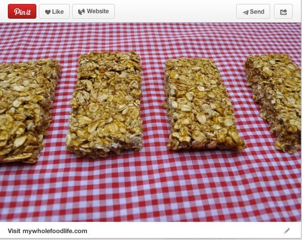 Granola bars are a perfect on-the-go snack and with fall in full swing, these pumpkin granola bars are a great way to incorporate fall flavors. These bars are easy to make and taste delicious! Recipe courtesy of MyWholeFoodLife.com.