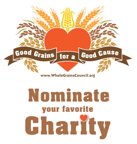 Nominate your favorite charity to win cases and cases of whole grain foods.