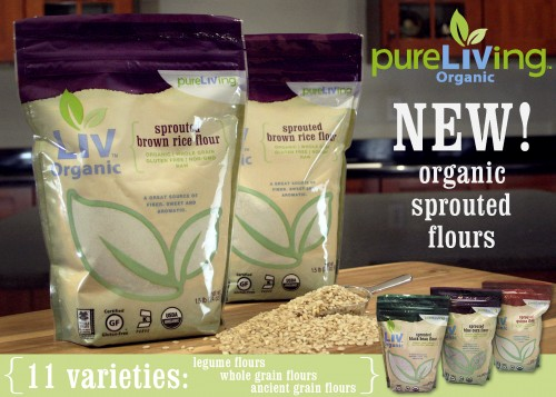 PureLiving Organic Sprouted Flours