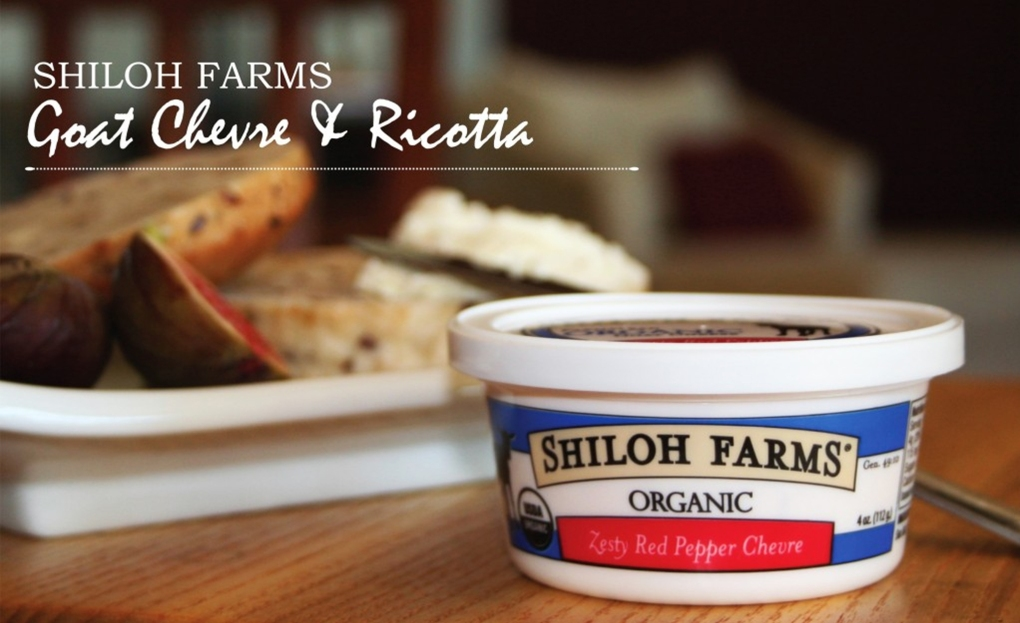 Shiloh Farms Organic Goat Chevre - Zesty Red Pepper